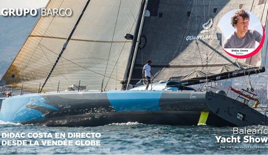 "Didac Costa: ""The challenge is to finish the Vendée Globe for the second time"""